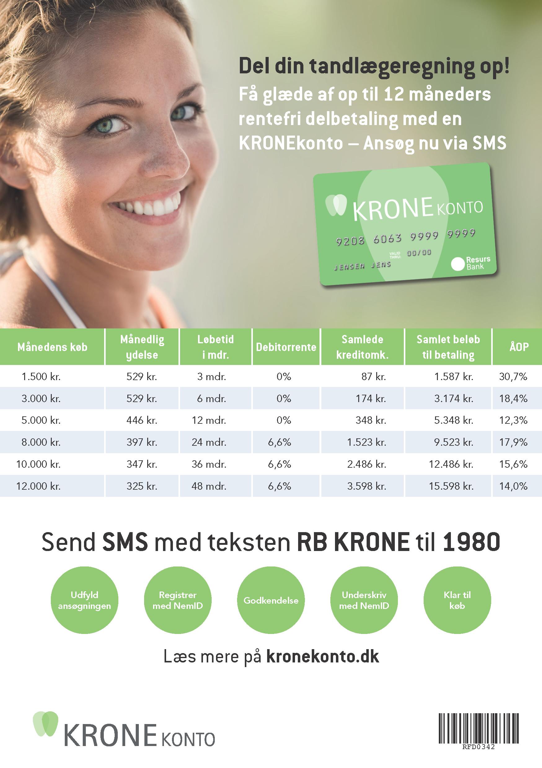 Krone konto patient information.